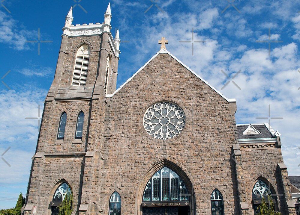 St. Patrick Church of Tacoma, Wa by Terrie Heslop