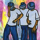 Let's STEP, My Brothas by © Angela L Walker