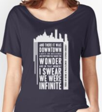 Infinite - White Women's Relaxed Fit T-Shirt