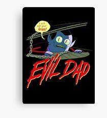 Evil Dad Canvas Print