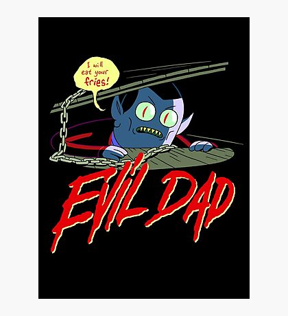 Evil Dad Photographic Print