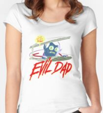 Evil Dad Women's Fitted Scoop T-Shirt