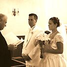 Paster with Bride and Groom by RockyWalley