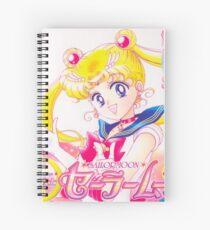 Sailor Moon Manga Cover Spiral Notebook