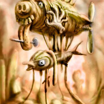 Mystery of the Fish Zepplin by MBJonly