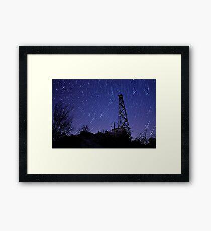 Stellar Motion Framed Print