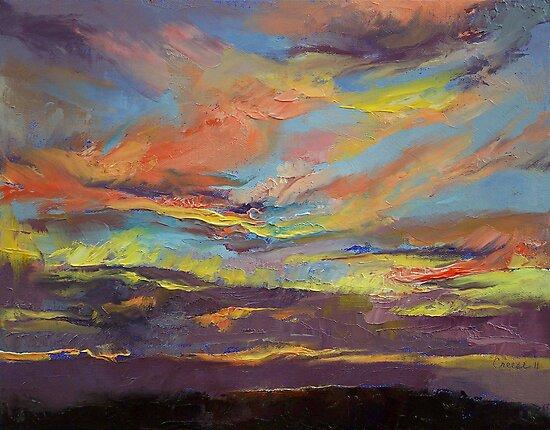 Atahualpa Sunset by Michael Creese