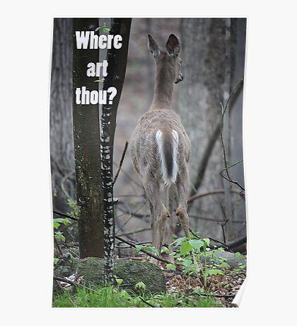 Where art thou? Poster