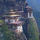 Tigers Nest Monastery by Istvan Hernadi
