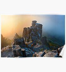 dawn on Mount Ashland Poster