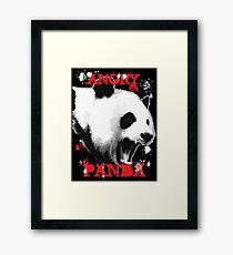 Angry Panda Framed Print