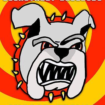 Backstreet Bulldogs T-Shirt by MusoMagicMerch