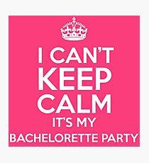 Bachelorette Party Photographic Print