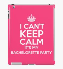Bachelorette Party iPad Case/Skin