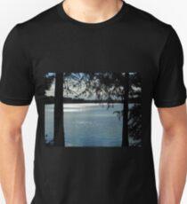 Sparkles On Willow Beach Lake T-Shirt