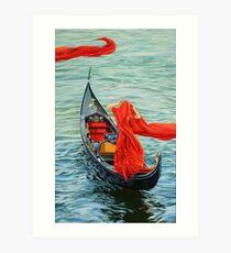 Venetian blood Art Print