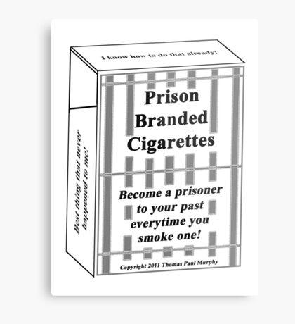 Prison Branded Cigarettes Metal Print
