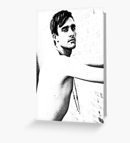 Brisbane Boys - Marcus Greeting Card