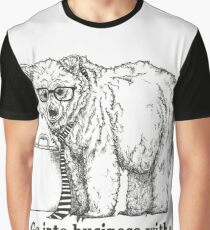 Go Into Business with a Grizzly Bear Graphic T-Shirt