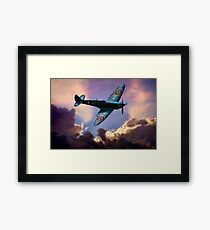 The Supermarine Spitfire, Hero of the Battle of Britain Framed Print