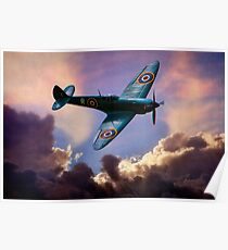 The Supermarine Spitfire, Hero of the Battle of Britain Poster