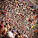 Football Fans by Robin Black