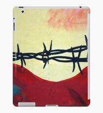 Abstract - barbed wire  iPad Case/Skin