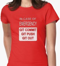 Git Out Custom Womens Fitted T-Shirt