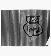 Bear Paint Poster
