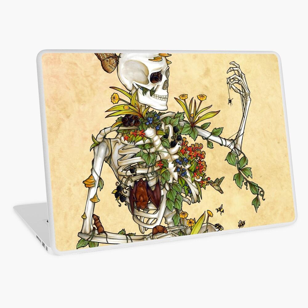 Bones and Botany Laptop Skin