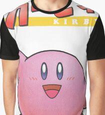 Super Smash Bros 64 Japan Kirby Graphic T-Shirt