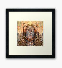 rippled portal Framed Print