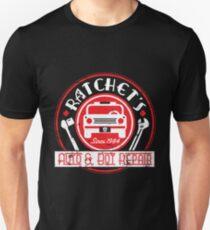 Ratchet's Auto & Bot Repair Slim Fit T-Shirt