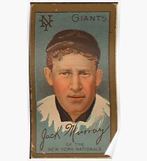 Benjamin K Edwards Collection John J Murray New York Giants baseball card portrait Poster