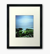 """Beachular Mosstrophy"" ∞ Barragga Bay, NSW - Australia Framed Print"