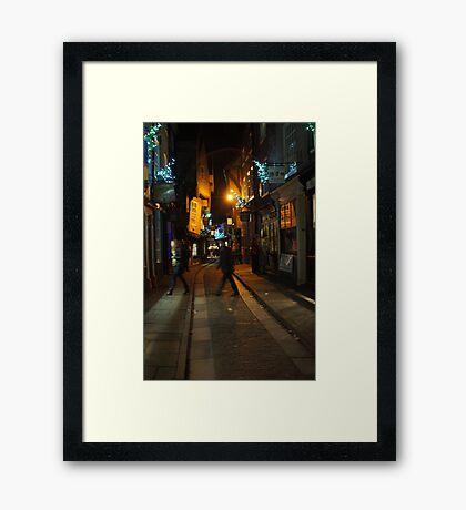 The Shambles York Framed Print