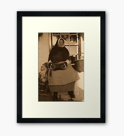 Squeeze Box Framed Print