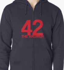 The Answer Zipped Hoodie