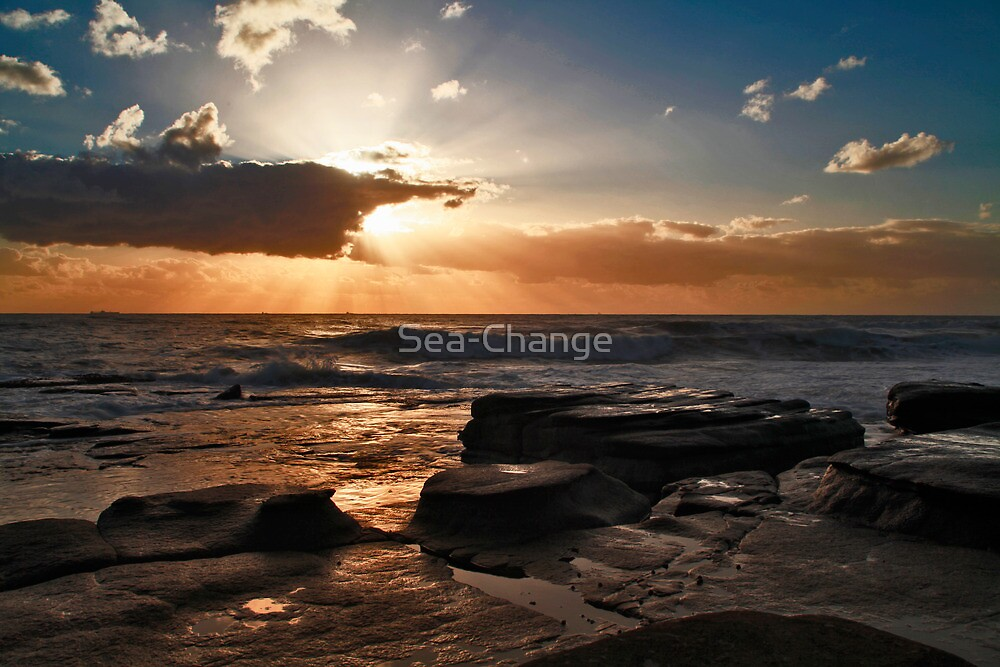 Point Cartwright Dawn by Sea-Change