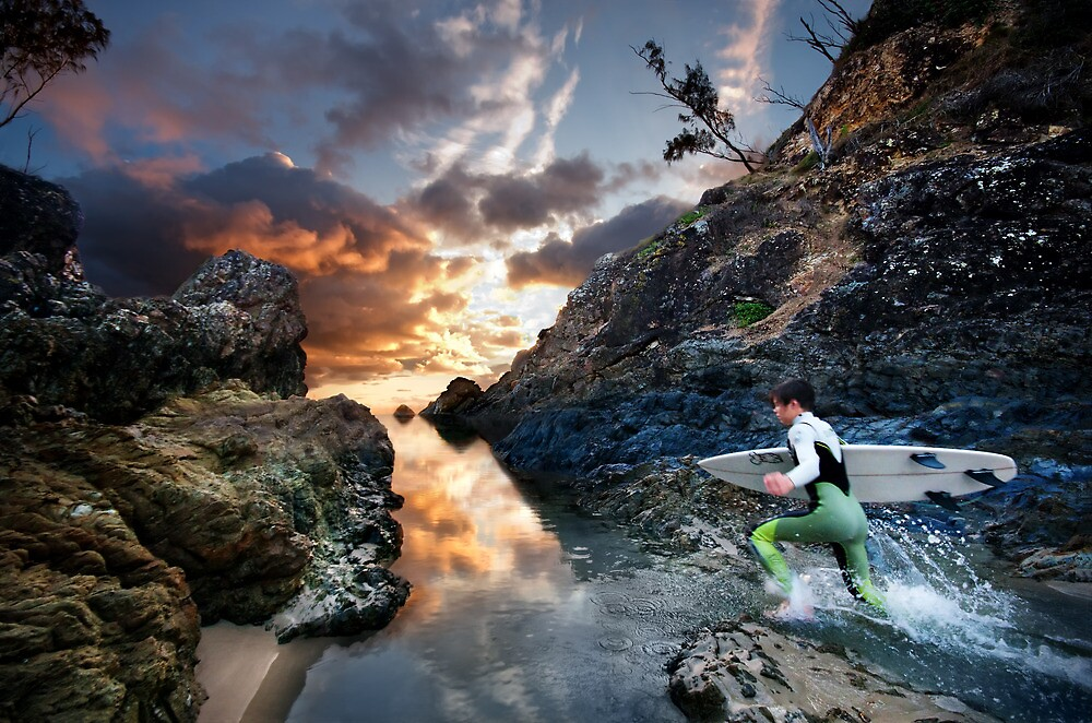 Dawn Surf by Ben Ryan