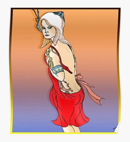 Androidika Fantasy Female  Poster
