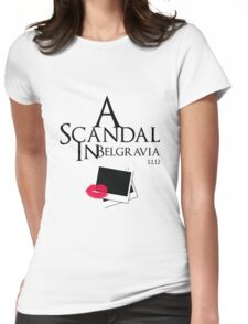 A Scandal In Belgravia Womens Fitted T-Shirt
