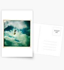 Yellow and Blue Postcards
