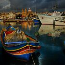 """ A PEACEFUL MORNING AT MARSAXLOKK MALTA"" by RayFarrugia"