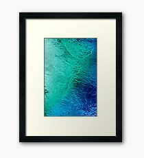 Ocean Sea Water Digital Art Framed Print