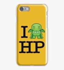 I Love HP Lovecraft - Cthulhu iPhone Case/Skin
