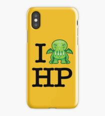 I Love HP Lovecraft - Cthulhu iPhone Case/Skin