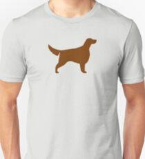 Irische Setter Silhouette (n) Slim Fit T-Shirt
