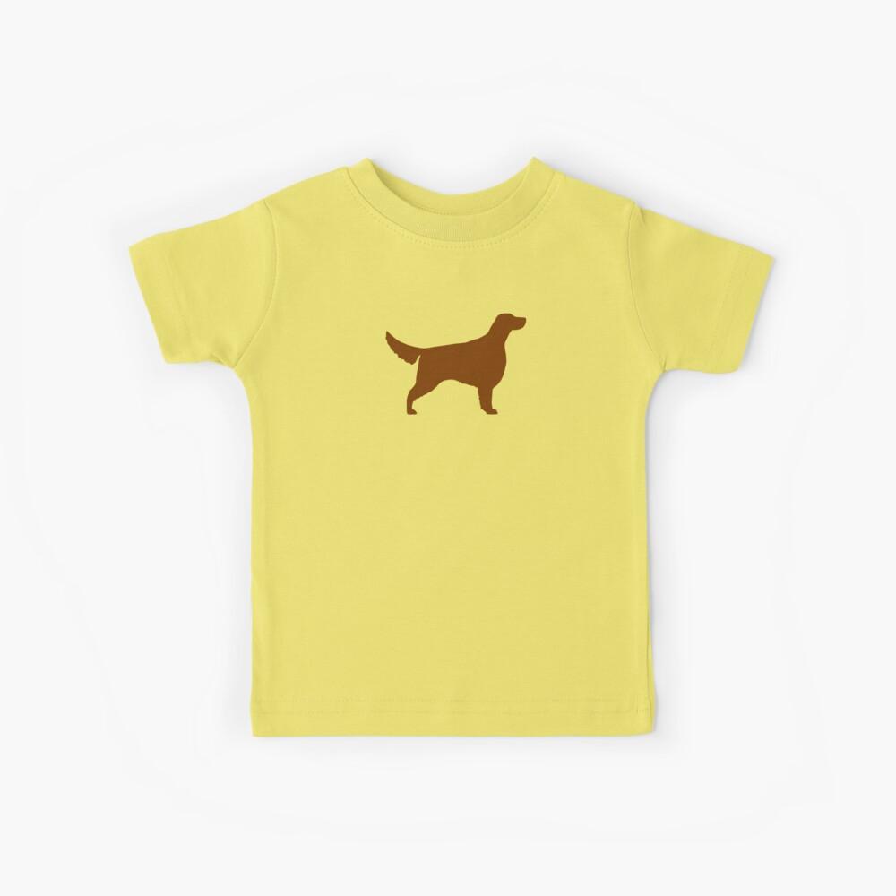 Irische Setter Silhouette (n) Kinder T-Shirt