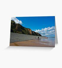 Sheringham Beach, Norfolk, UK Greeting Card